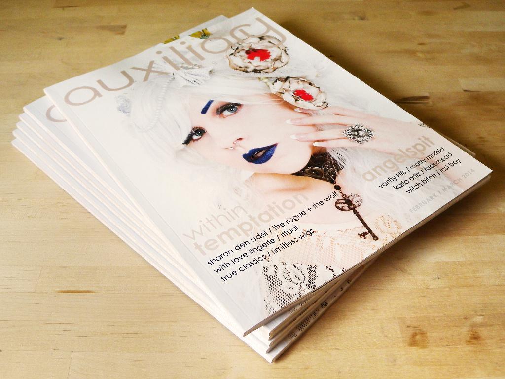 Auxiliary Magazine Print