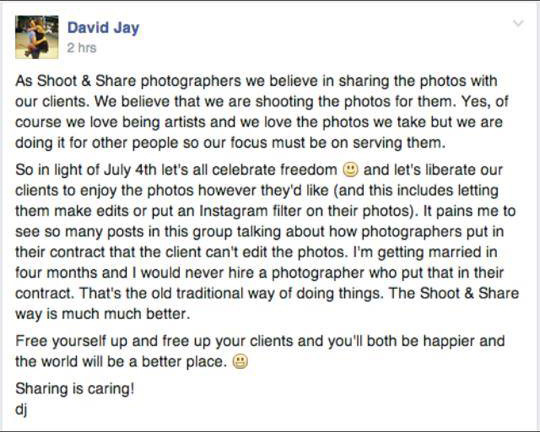 David Jay Shoot And Share