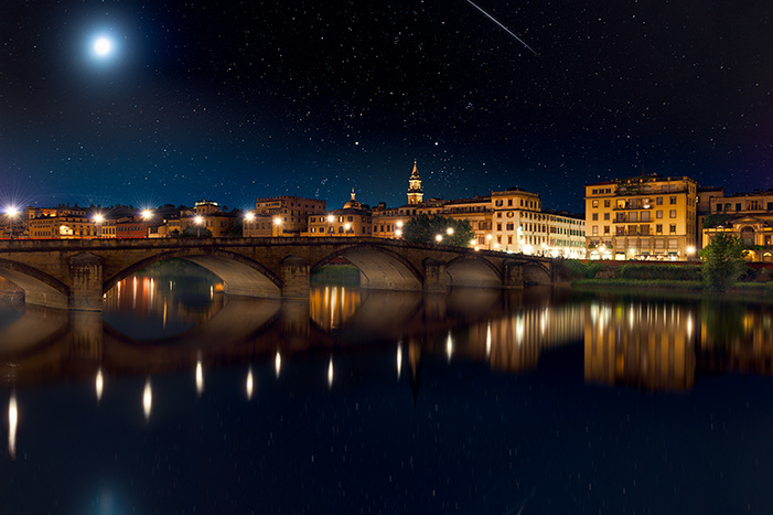 A Night in Florence by Michael Woloszynowicz
