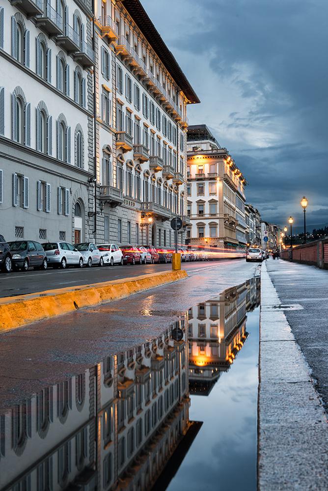 Florence Reflections by Michael Woloszynowicz