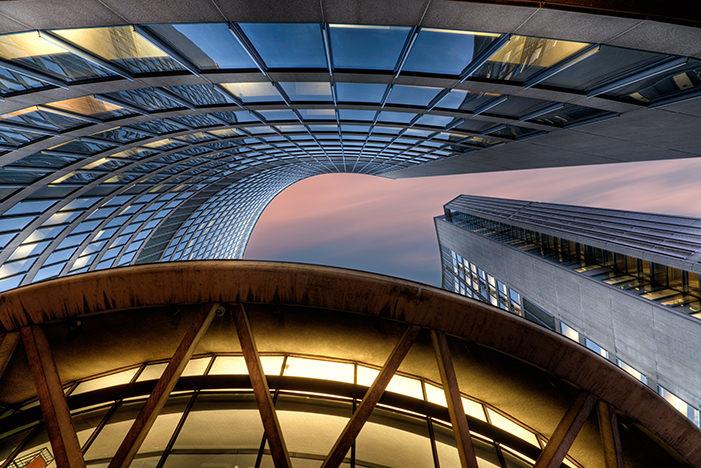 Toronto City Hall by Michael Woloszynowicz