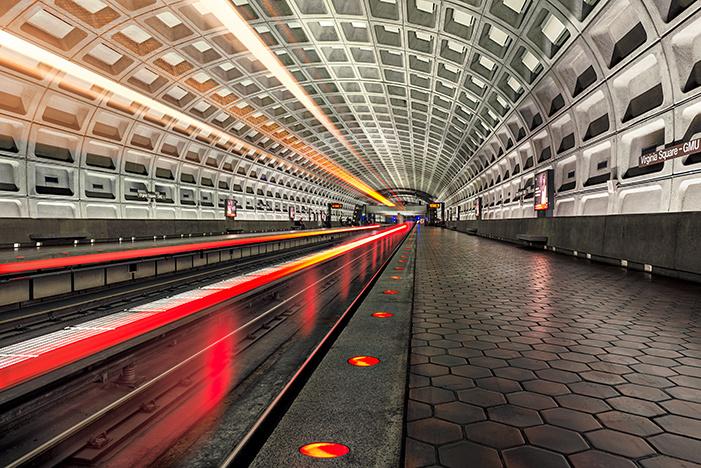 Washington DC Metro by Michael Woloszynowicz