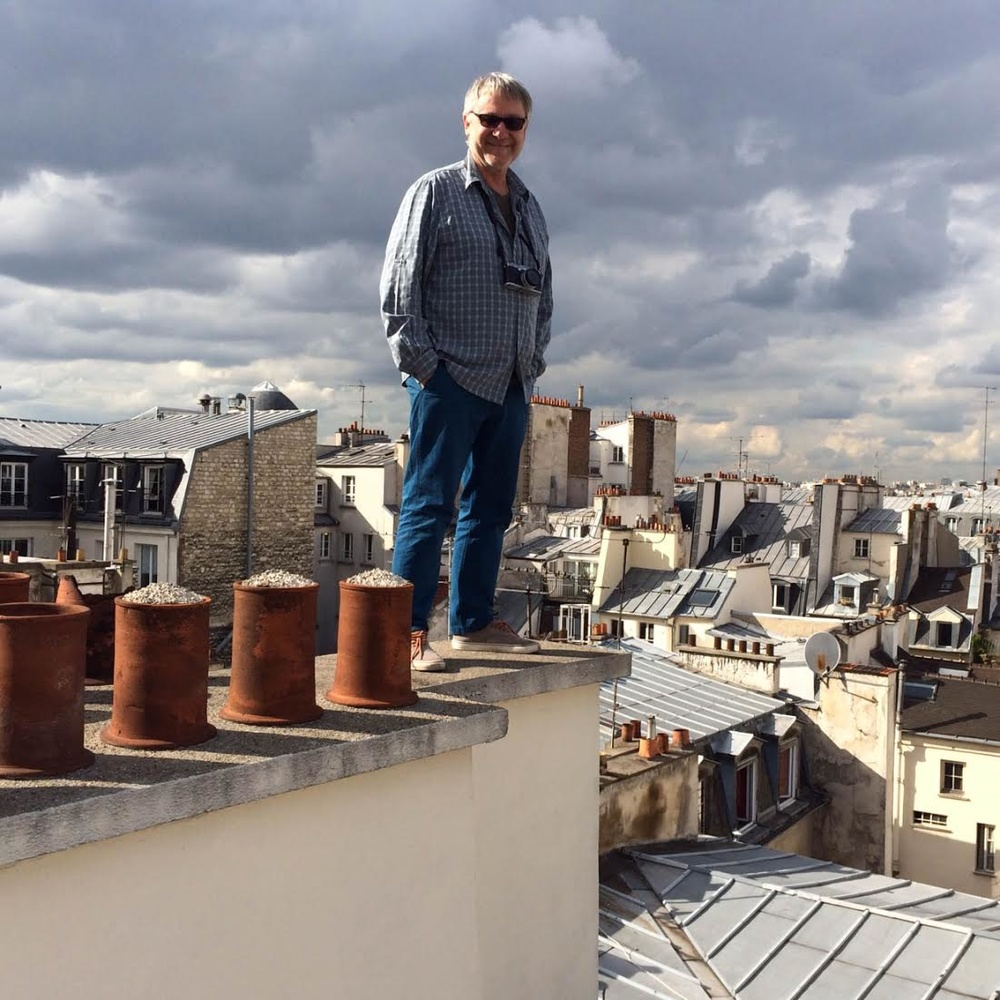 Michael Wolf on the roof tops of Paris