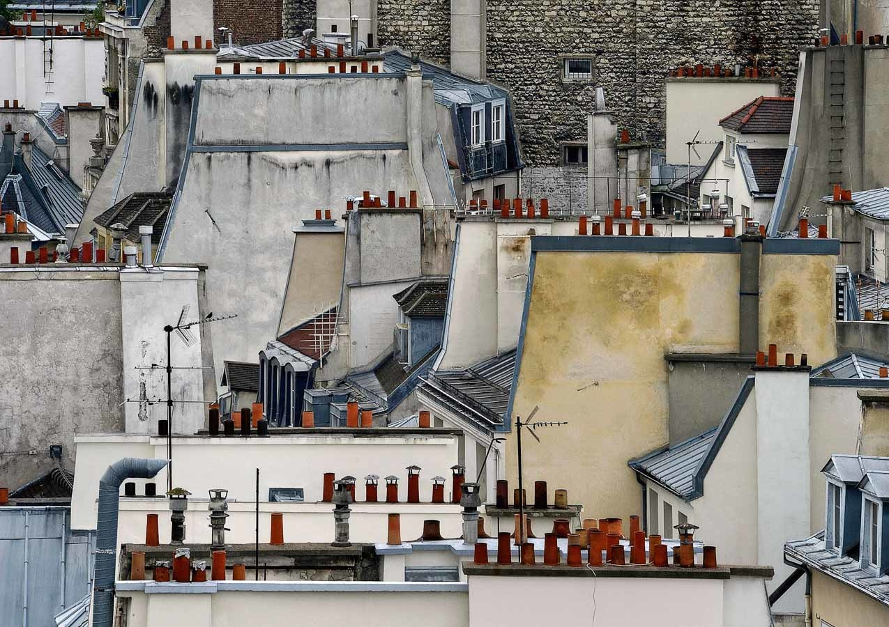 From Michael Wolf's Roof Tops Series