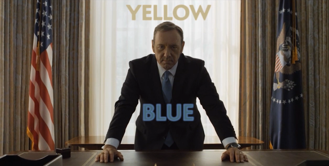 How the Colors Blue and Yellow Help 'House of Cards' Become One of the Most Beautifully Shot Series Ever