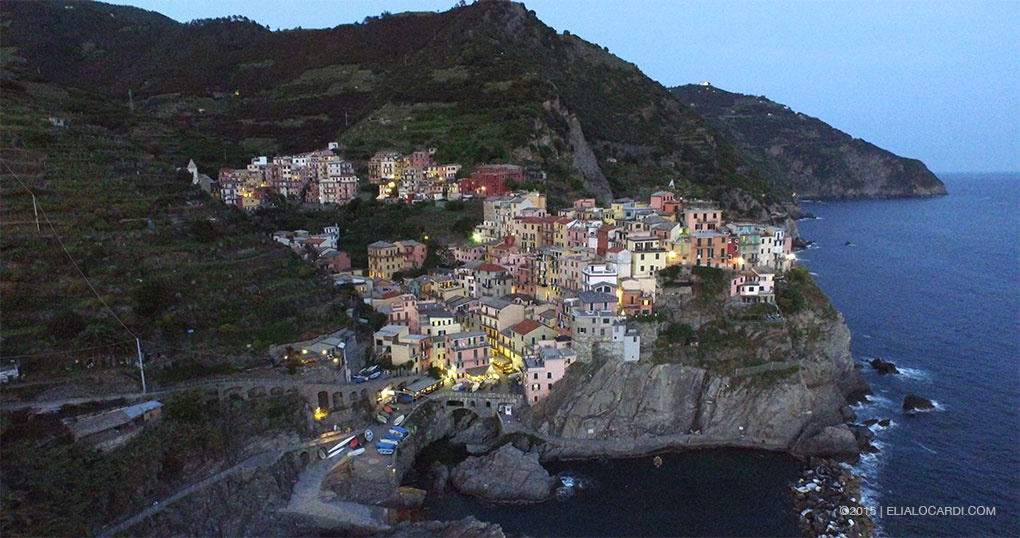 Phantom 3 Review - Manarola Still Before