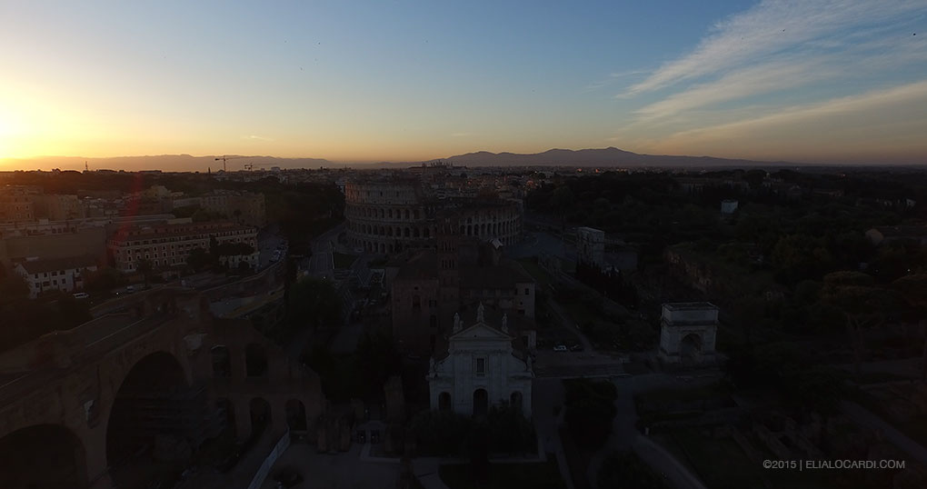 Phantom 3 Review - Rome Before Example