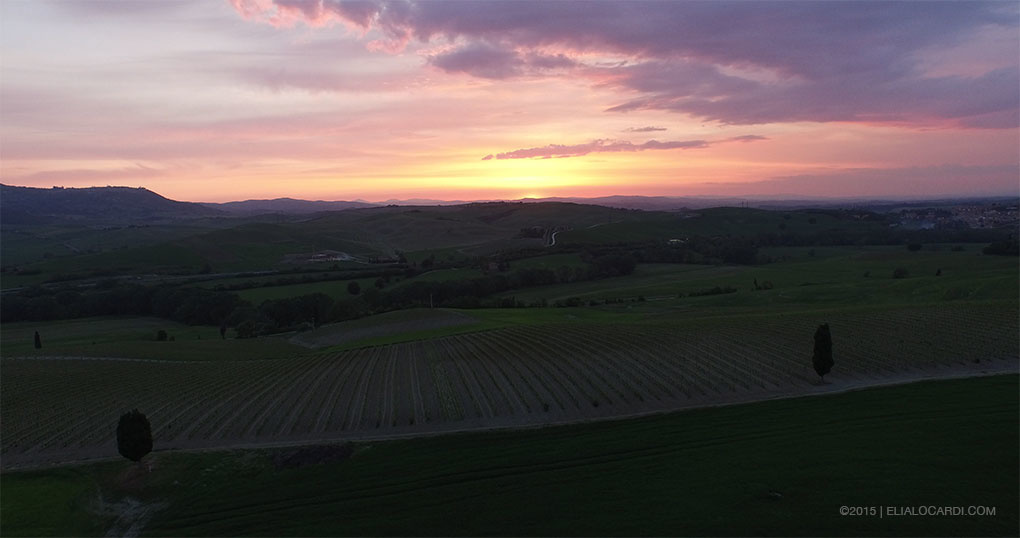 DJI Phantom 3 Review - Tuscany Before Example