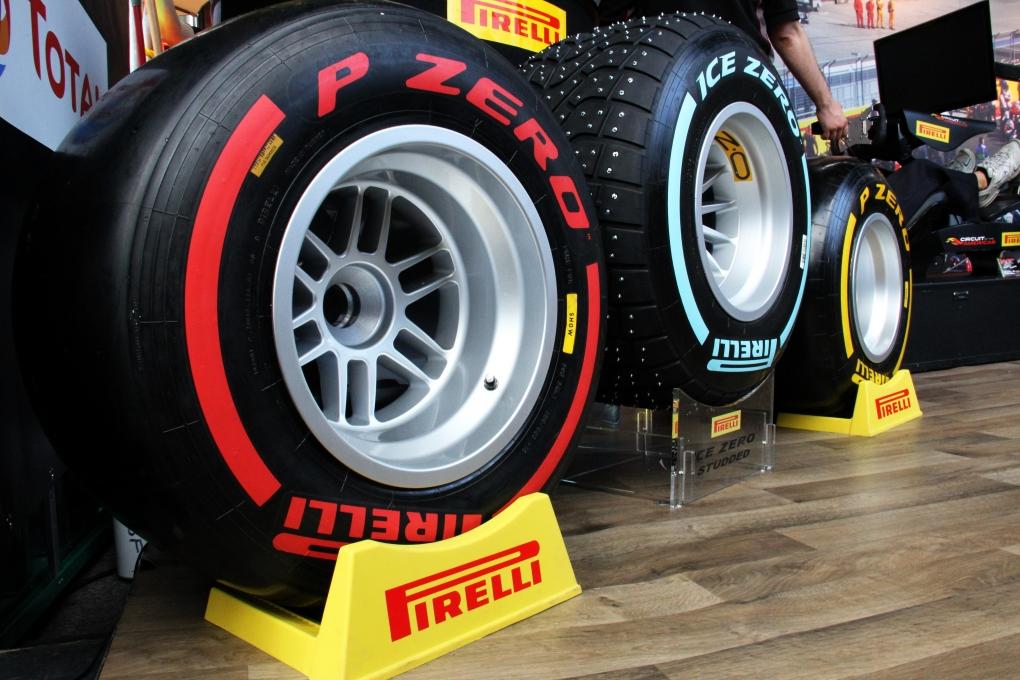 Pirelli F1 Demo