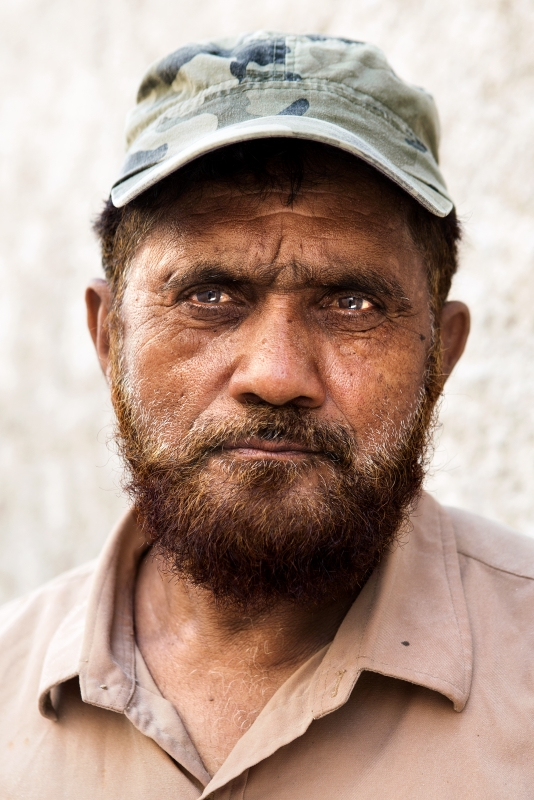 Karachi worker