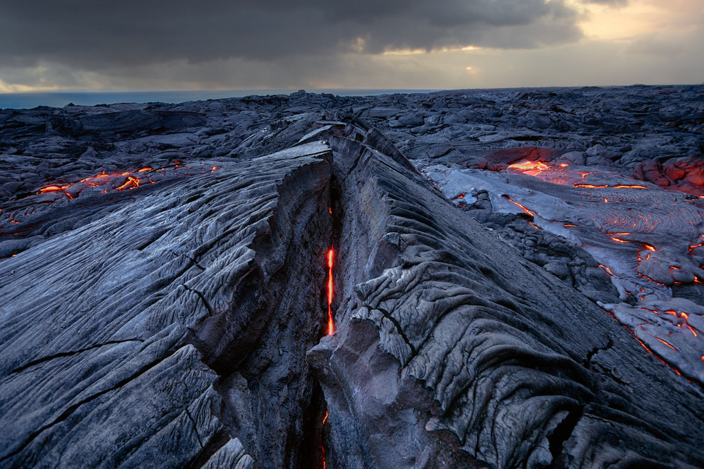 Lesion | Kalapana Lava Fields, Hawaii