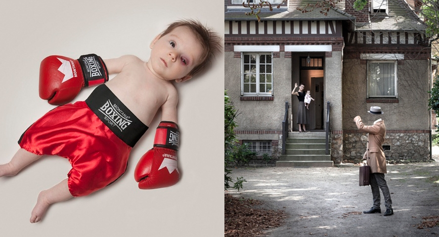 [Pics] Two Great Series: A Professional Baby and An Invisible Man