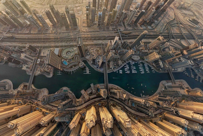 Flying High Over Dubai