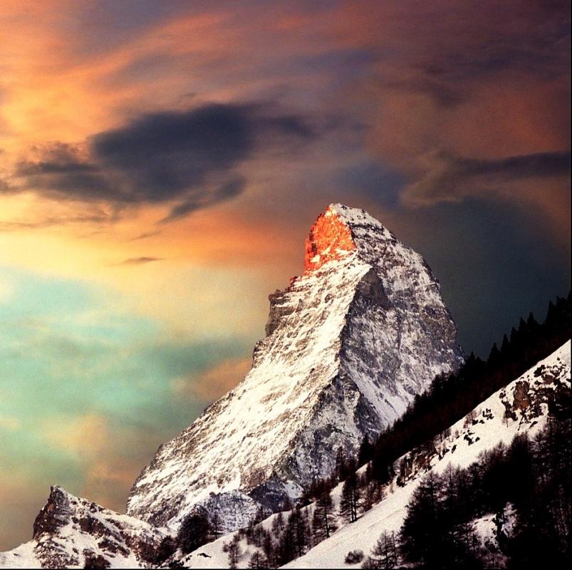 The Matterhorn, Dawn