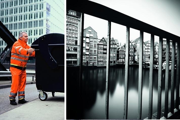 [Pics] Garbage Men Convert Dumpsters into Pinhole Cameras