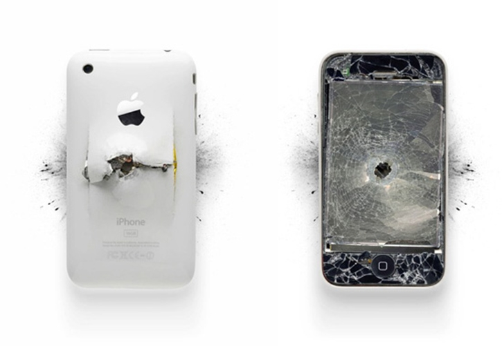 [Pics] Demolished Apple Products