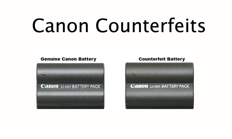 [News] On April Fools', Canon Reminds Us of Counterfeits