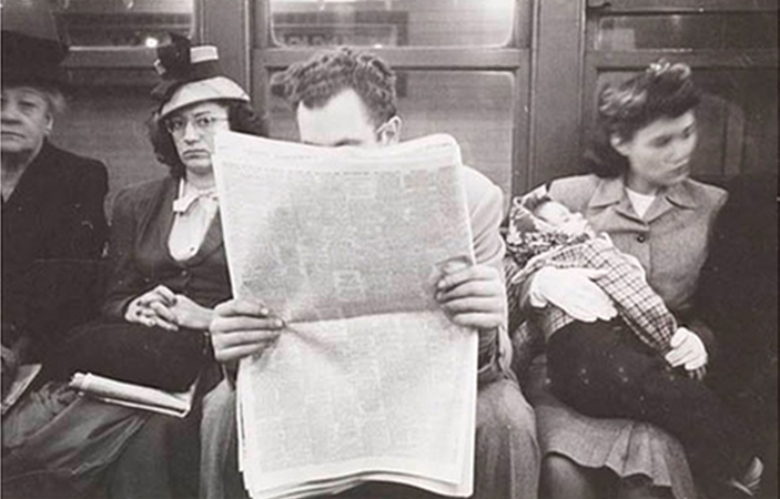 [Pics] Stanley Kubrick's 1940s Subway Photographs