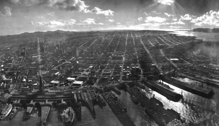 [Pano] Incredible Panorama of San Francisco After The 1906 Earthquake