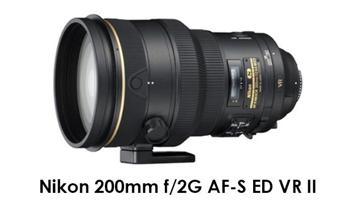 Nikon 200mm f/2G AF-S ED VR II