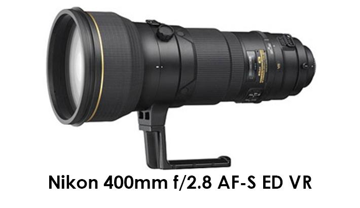 Nikon 400mm f/2.8 AF-S ED VR