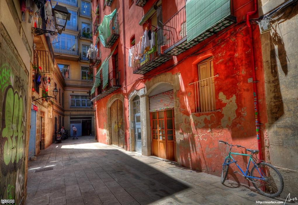 Colorful Cul-De-Sac