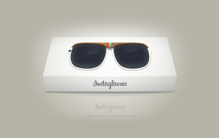 Instaglasses Concept: The Instagram Glasses That Show The World In Filters