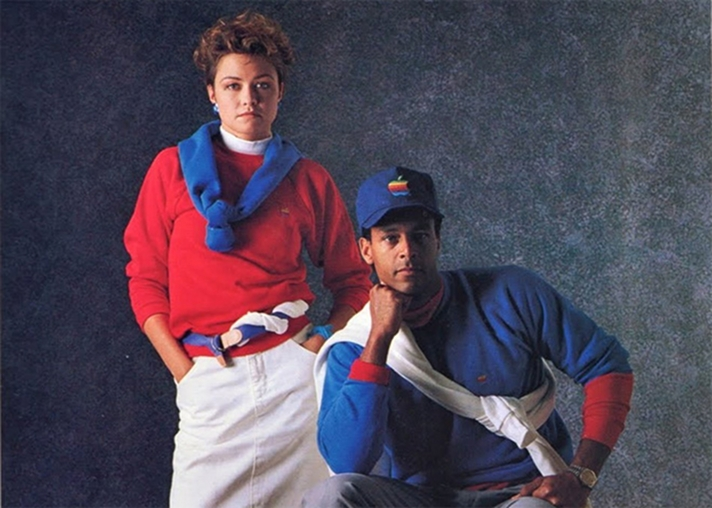 The 1986 Apple Clothing Collection