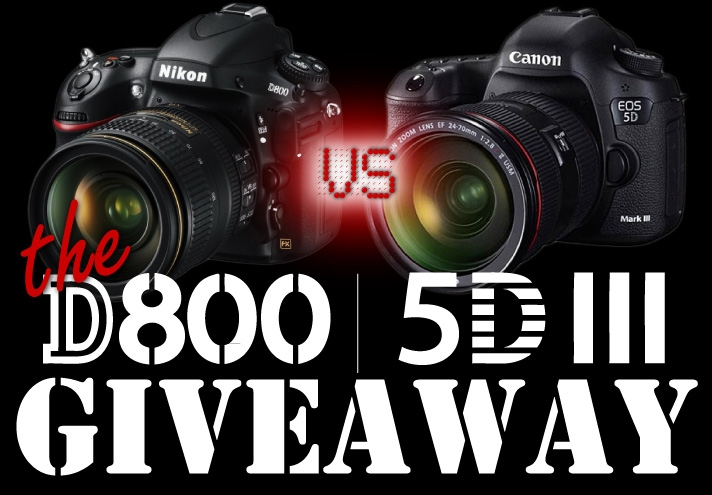 Final Chance: Fstoppers Is Giving Away Another D800 or 5DM3