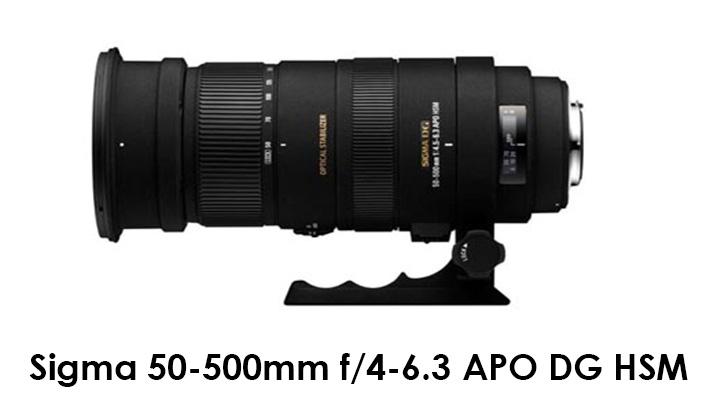 Sigma 50-500mm f/4-6.3 APO DG HSM