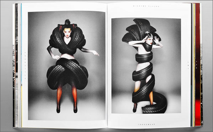 Cool Tire Tread Fashion Concept (Commercial Shoot)