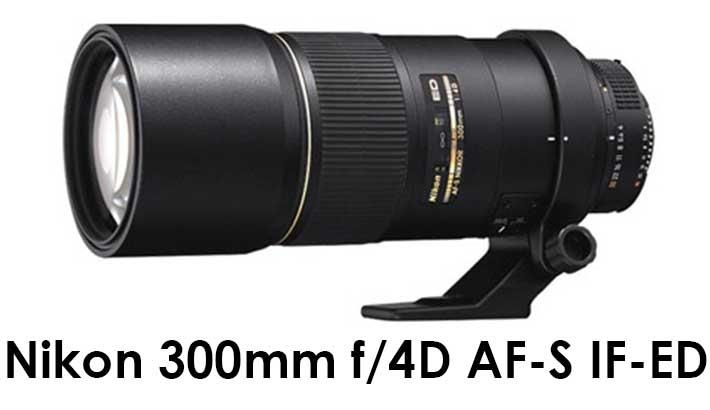 Nikon 300mm f/4D AF-S IF-ED