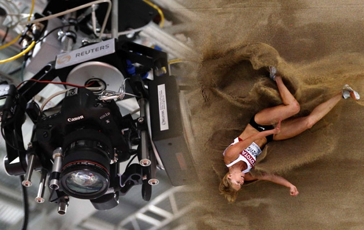 The Robotic Cameras Of The 2012 Olympic Games And Beyond