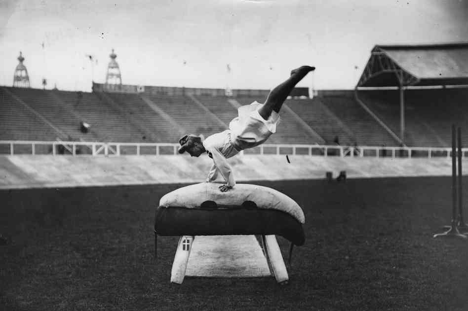 Photos From the Olympics in London 104 Years Ago