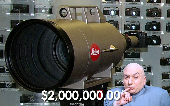 This Leica 1600mm Lens Costs 2 Million Dollars