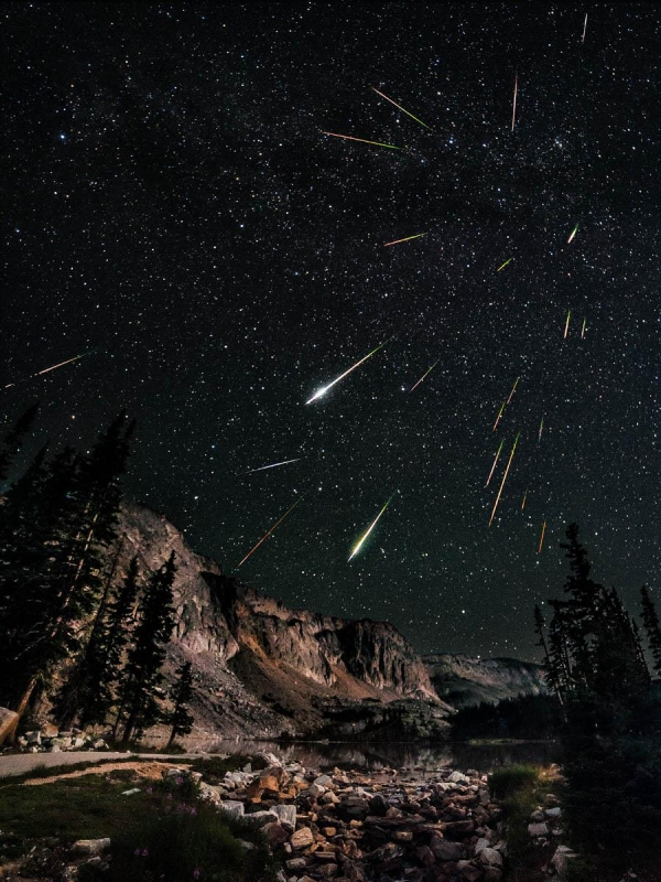 Snowy Range Meteor Shower