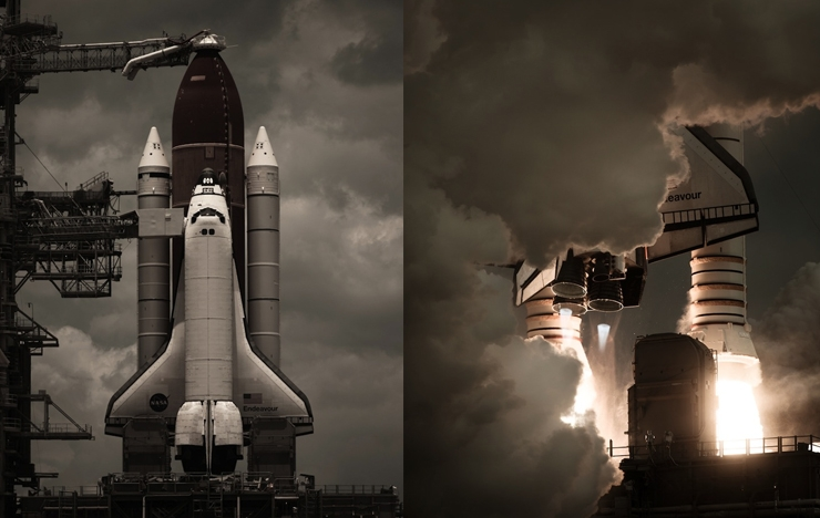 Inspiring Photos Of The American Space Shuttle Program