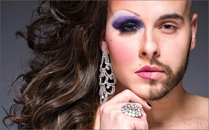 "Photographing Men in ""Half-Drag"""