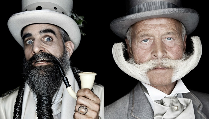 Portraits Of The World's Greatest 'Staches And Beards
