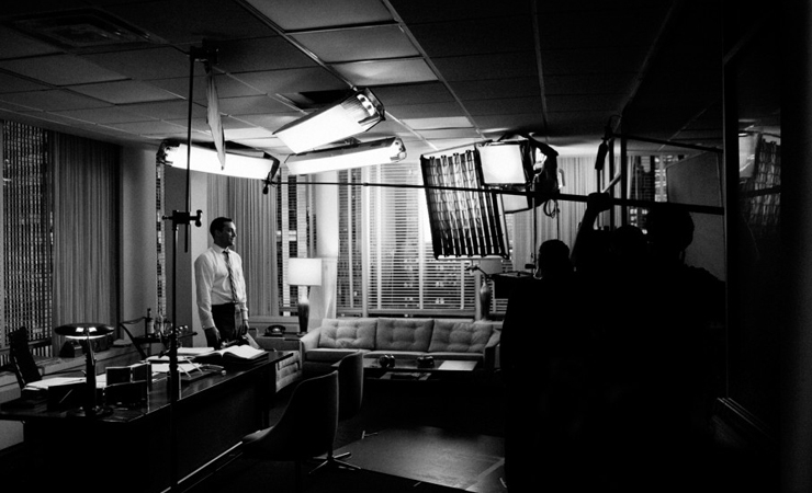 Behind-the-Scenes Images Making AMC's Mad Men