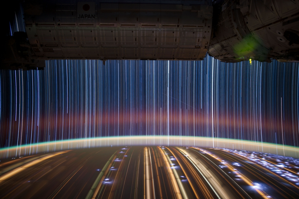 ISS Long Exposure