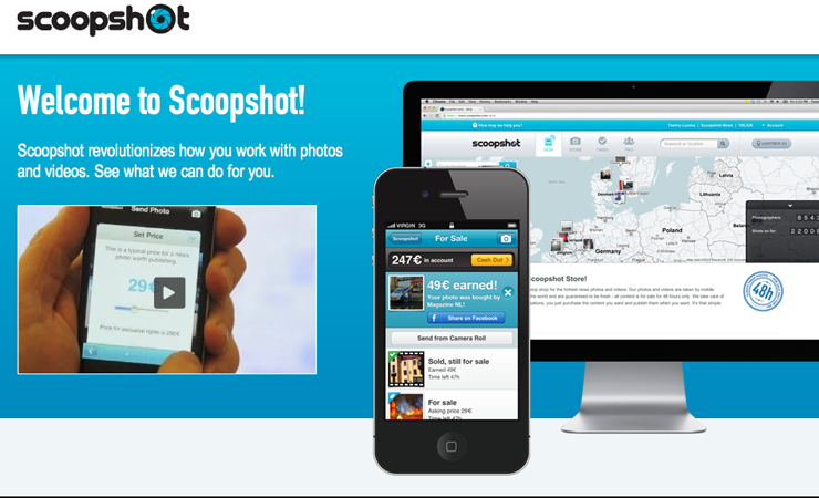 Man Makes $20,000 on his Smartphone with Scoopshot