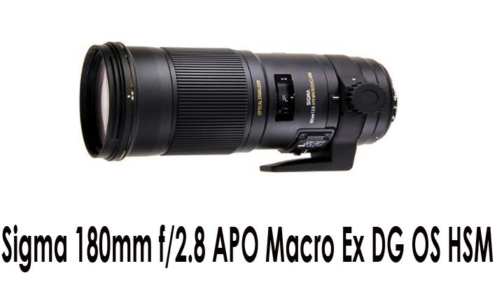 Sigma 180mm f/2.8 Macro