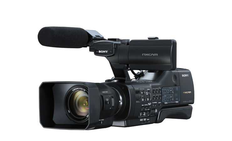 Sony Announces the NEX-EA50 Full HD Pro Camcorder