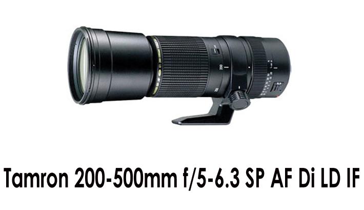 Tamron 200-500mm f/5-6.3 SP AF Di LD IF