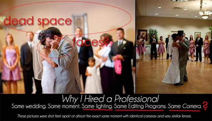 Why You Should Not Hire A Professional Wedding Photographer?