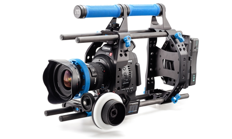 Redrock Micro Releases the ultraCage | blue for Canon EOS C100