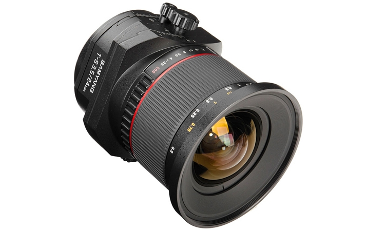 Samyang to show 24mm F3.5 tilt-and-shift lens at Photokina
