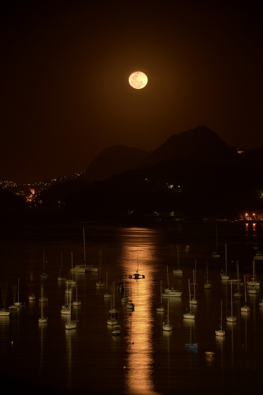 The Moon Over Rio