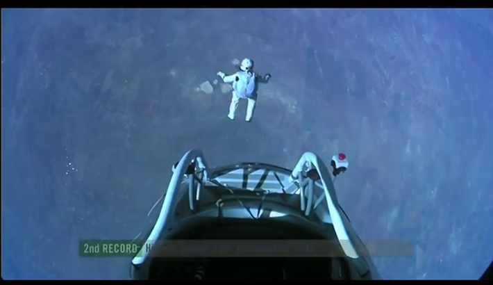 Pictures From The Edge Of Space - Redbull Stratos